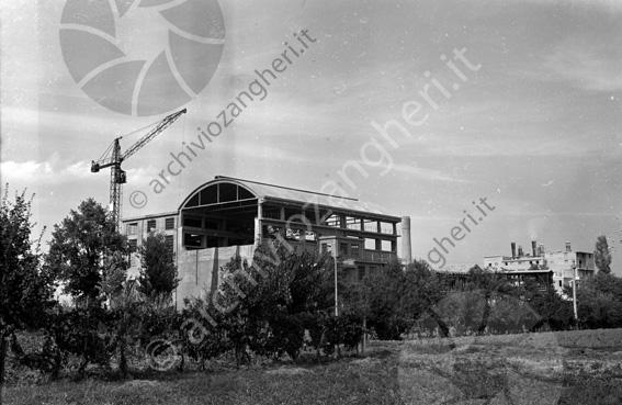 LD L336 - L336 - Cantiere costruzione Cementificio Santarcangelo di Romagna - 1952