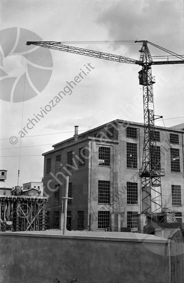 LD L337 - L337 - Cantiere costruzione Cementificio Santarcangelo di Romagna - 1952