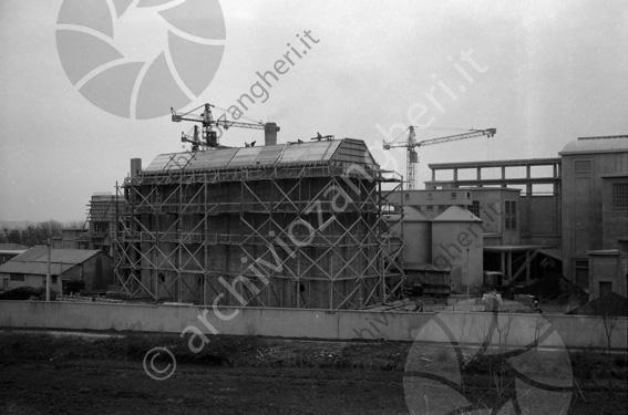 LD L903A - L903A - Cantiere costruzione Cementificio Santarcangelo di Romagna - 20-03-1954