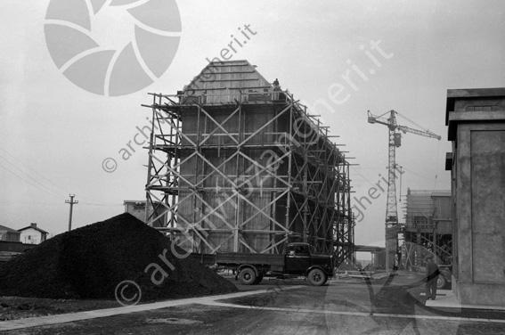 LD L908 - L908 - Cantiere costruzione Cementificio Santarcangelo di Romagna - 20-03-1954