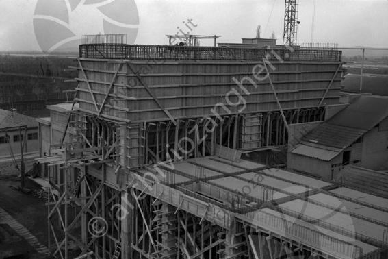 LD L910 - L910 - Cantiere costruzione Cementificio Santarcangelo di Romagna - 20-03-1954
