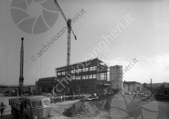 LD LG4712 - LG4712 - Cantiere lavori F.lli Martini - Budrio di Longiano - 30-08-1962